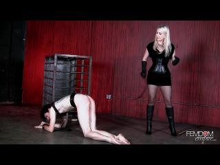 Чувак попал в плен к властной блондинке